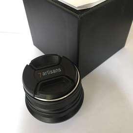 Lensa fuji 7Artisans 25mm f1.8 untuk fuji x