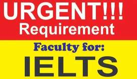IELTS trainer required