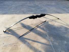 Takedown bow and arrows