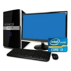CORE I3 HP BRAND DESKTOP COMPUTER 1 YR WRTY CALL SK INFO VAPI