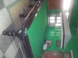 snooker table used with all accessories ,but used in good condition