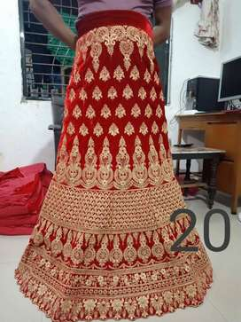 Marketing of ladies suits lehenga choli and gown