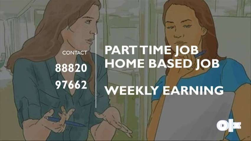 WORK FROM HOME Part And full time jobs/ Handwriting job and typing job