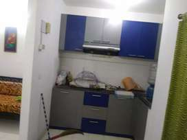 A well furnished flat for rent in shapoorji housing complex