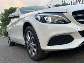 Mercedes-Benz C-Class 200 CGI, 2018, Petrol