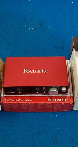 Soundcard, focusrite
