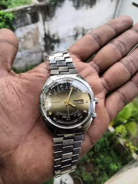 Orient perpetual calendar 1970 automatic watch