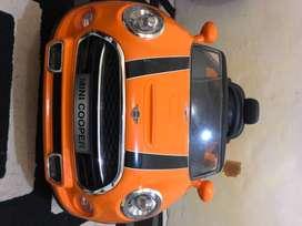 Mobil aki pliko minicooper - orange