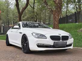 Km. 20rban BMW 640i Coupe 2012 Putih / White Int. Cinnamon Brown