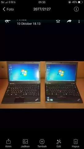 Lenovo Thinkpad core i5 Ivy 3320 Bandel Awet