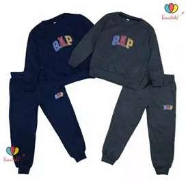 Setelan jaket anak 2-5 th