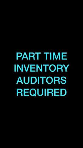 Part time inventory auditors: Shivamaoga