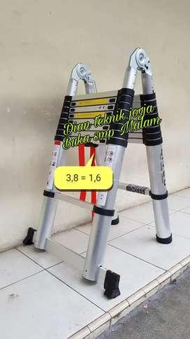 Dian teknik jogja buka smp mlm // tangga teleskopik model tekuk