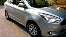 Ford Figo Aspire Titanium 1.5 Ti-VCT AT, 2016, Petrol