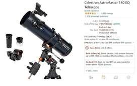 Celestron Astro Master 130 EQ Telescope