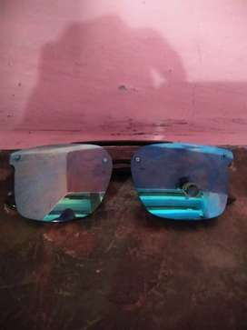 Goggles black and blue