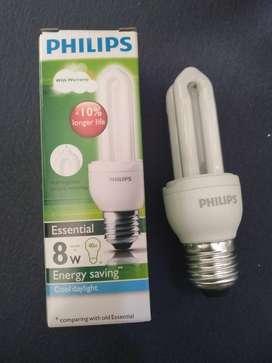 Lampu Philip Essential 8 watt