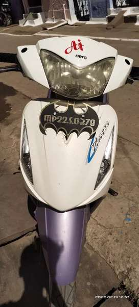 Hero pleasure condition like new and run only 16000 km