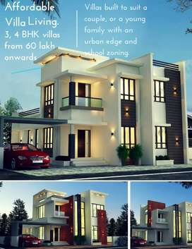 60 lakh villa for sale.!