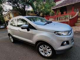 Ford Ecosport 1.5 Petrol Titanium Plus AT, 2016, Petrol
