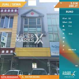 Disewakan Ruko Jalan Sultan Agung Kota Semarang
