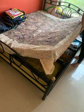 Iron Box Bed with Mattress on Sale