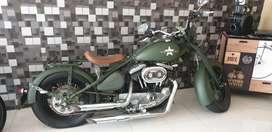 Sepeda Motor Custom Mesin Harley Davidson Sportster 2001