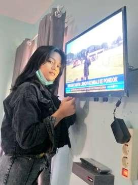 bantu jual & pasang bracket utk gantungan tv lcd di dinding kuat aman