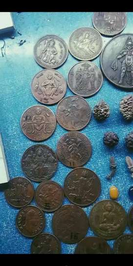 Old coins 35 pcs