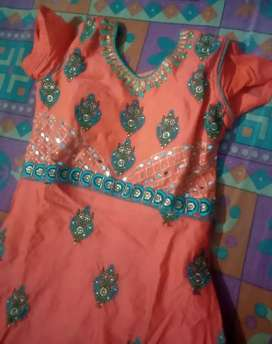 Ladies fancy suit with duppatta.