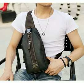 Tas Import Slempang kulit pria sling bag