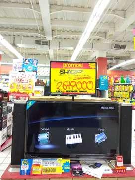 SHARP LED TV 32 Inch Bisa Cash dan Kredit!