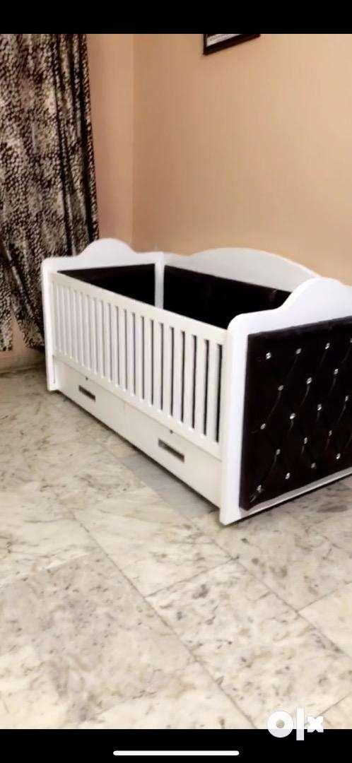 Baby crib cum kids bed and sofa (Fixed Price)