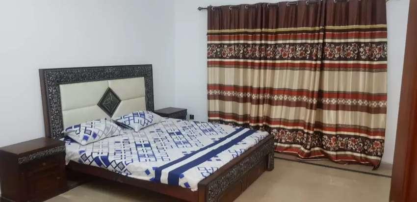 Furnished 1bed Apartment Available for rent in Bahria town phase 4 0