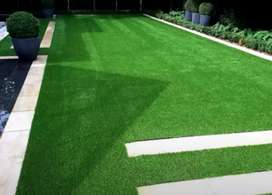 Artificial grass Astro turf for lawns or play areas wall designing