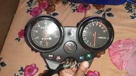 Petrol tank 'bajaj pulsar150,&speedo meter