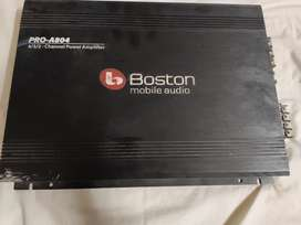 Boston 4 channel 800 watts amplifier