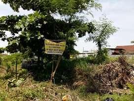 dijual sebidang tanah ukuran 15 x 20, luas tanah 300 m2