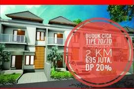 Jual Rumah Indent 2 Lantai, di Buduk Jln TUNON, Harga 695 Juta DP 20%