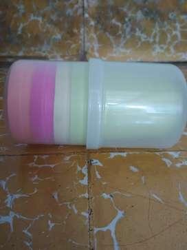 Gelas Plastik Unik Klo Dibuka Bisa Menjadi 6 Gelas