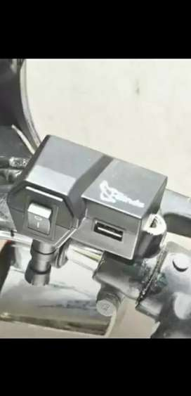 Scootey stand with mobile charger 800
