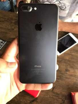 Iphone 7plus black colour