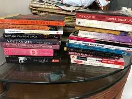 Selling novels - set of 19
