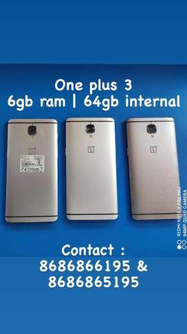Oneplus 3t 6gm ram | 64gb internal