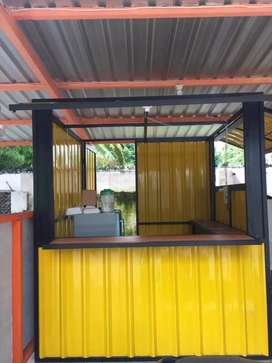 Container Booth / Booth Kekinian untuk jualan