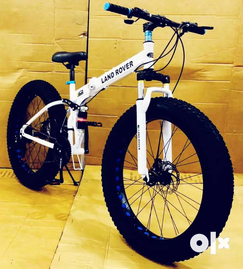 Land rover fat tyre foldable cycle with shimano 21 gears 0