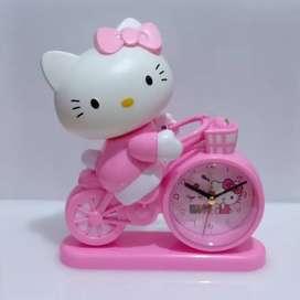 Jam Weker Beker Doraemon Hk Hello Kitty Kado Souvenir Unik