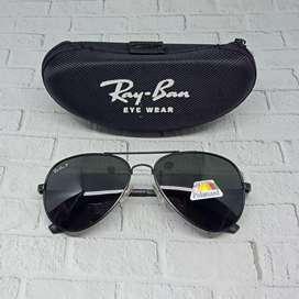 Sunglasses Ray-ban Polarized (Free Kotak + Lap Kacamata)