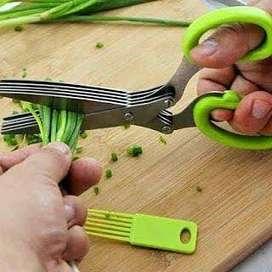 Gunting Dapur Serbaguna 5 Lapis Set Berkualitas dan MURAH