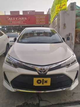 Toyota Corolla Altis X 2021 Already Bank Leased